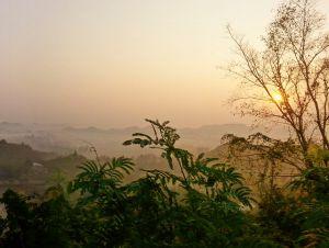 Dawn, Mrauk U, Myanmar