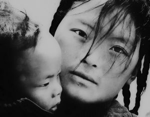 Tibetan Mother and Child, Serthar